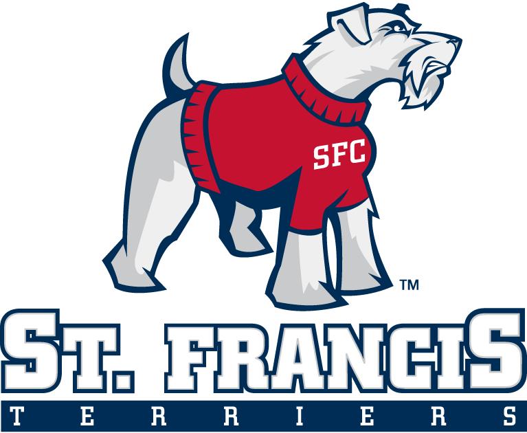 St. Francis Terriers Logo Primary Logo (2001-2010) - Terrier over script SportsLogos.Net