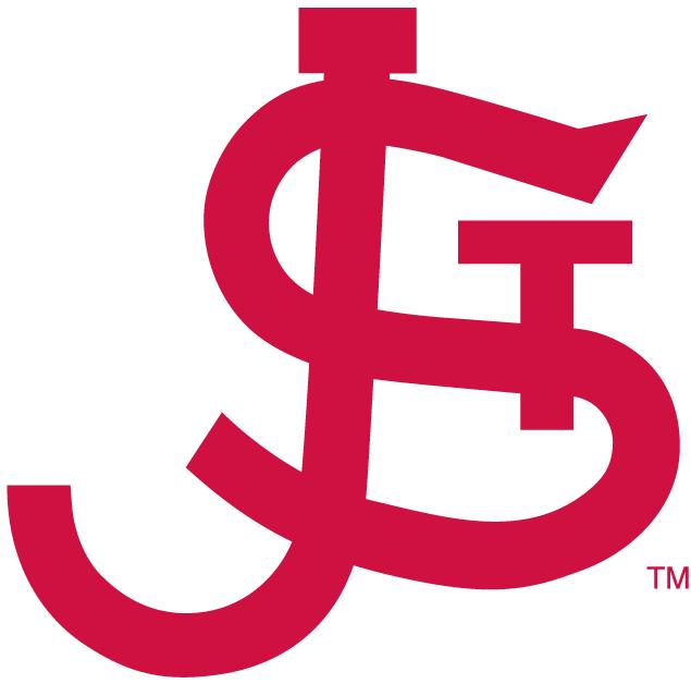 St. Johns Red Storm Logo Alternate Logo (1979) - Interlocking J S and T in red. SportsLogos.Net