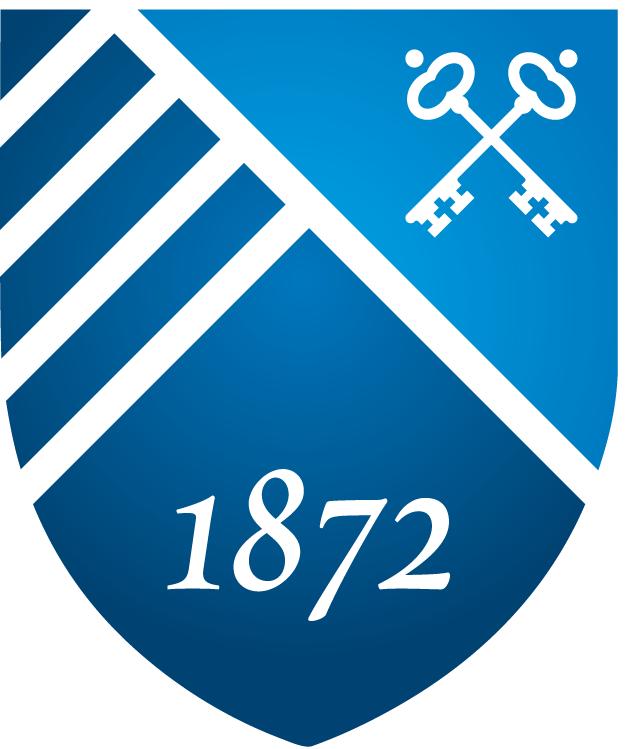 Saint Peters Peacocks Logo Misc Logo (2012-Pres) - Saint Peter's University shield  SportsLogos.Net