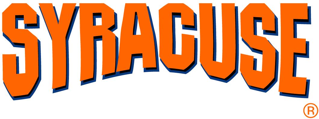 Syracuse Orange Logo Wordmark Logo (1992-2004) -  SportsLogos.Net