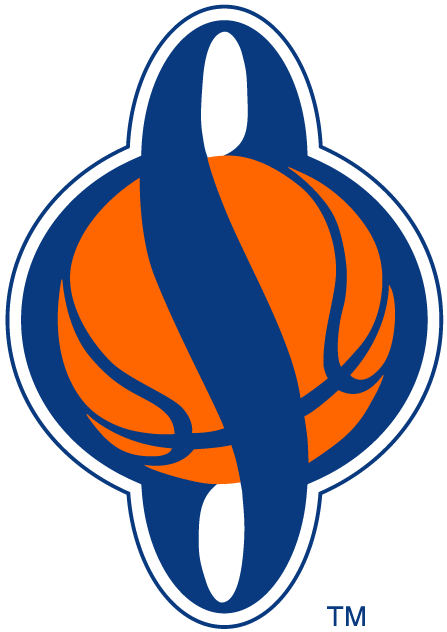 Syracuse Orange Logo Alternate Logo (2001-Pres) - Blue S on orange basketball SportsLogos.Net