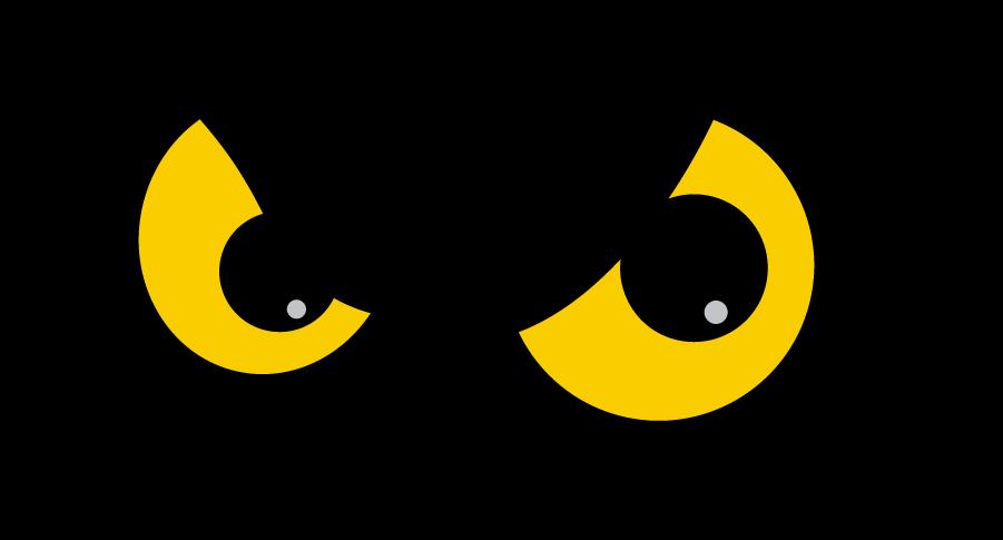 Temple Owls Logo Alternate Logo (1996-2020) - Owl eyes in black box. SportsLogos.Net
