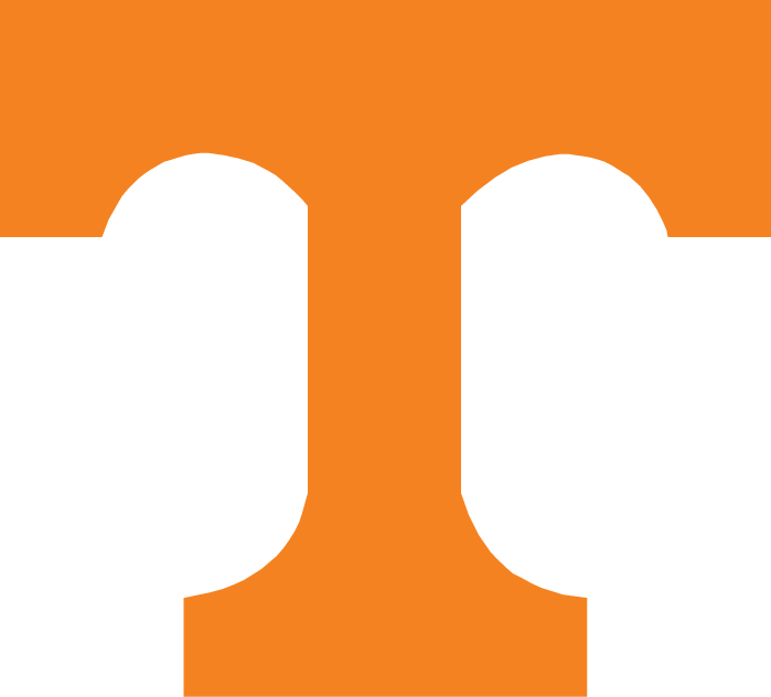 Tennessee Volunteers Logo Primary Logo (1967-1982) - Orange T SportsLogos.Net