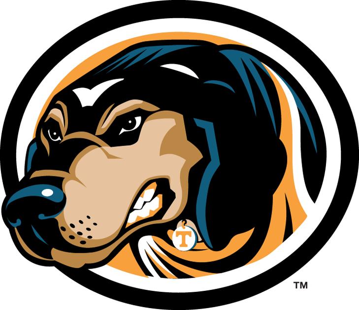 Tennessee Volunteers Logo Alternate Logo (2005-Pres) - Mascot Smokey in a circle SportsLogos.Net