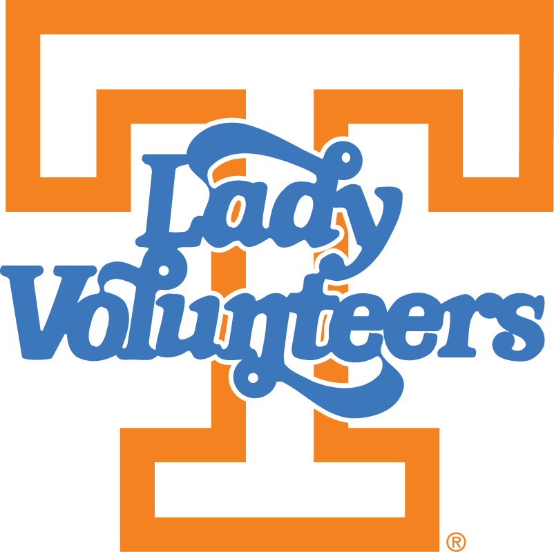 Tennessee Volunteers Logo Alternate Logo (1983-Pres) - T with Lady Vols in blue SportsLogos.Net