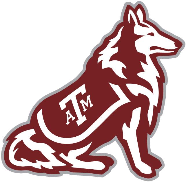 Texas A&M Aggies Logo Mascot Logo (2001-Pres) - Aggies mascot - a Rough Collie dog named Reveille SportsLogos.Net