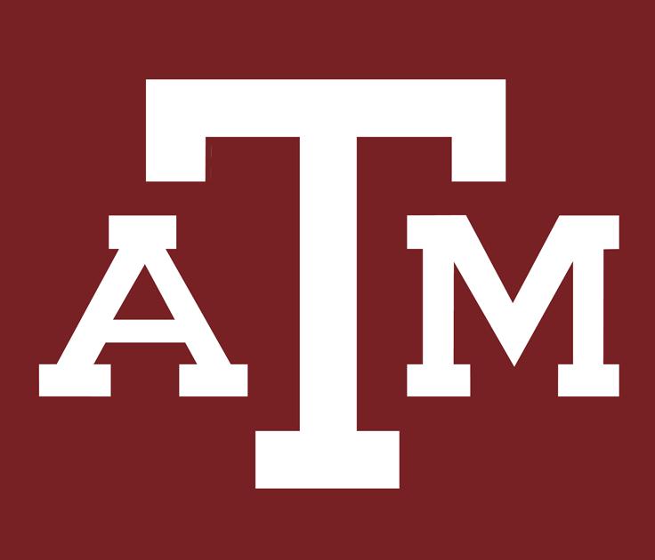 Texas A&M Aggies Logo Alternate Logo (1978-Pres) - ATM letters on maroon background SportsLogos.Net