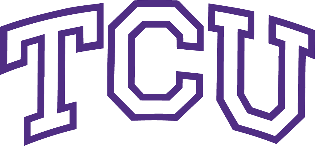 TCU Horned Frogs Wordmark Logo - NCAA Division I (s-t) (NCAA s-t ...