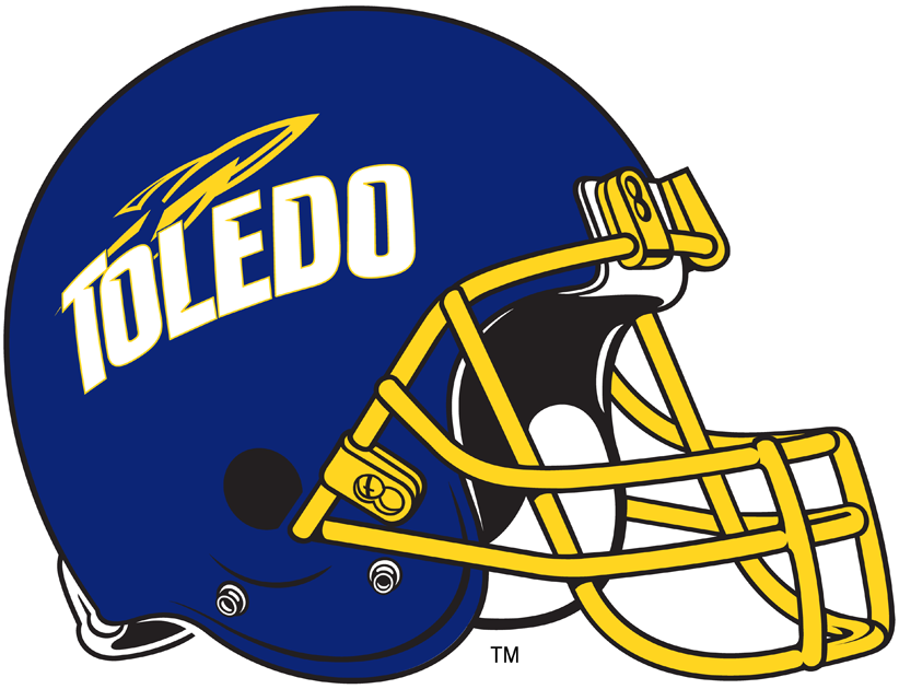 Toledo Rockets Helmet Helmet (1997-Pres) -  SportsLogos.Net
