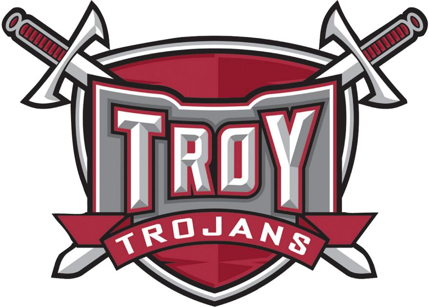 Troy Trojans Logo Primary Logo (2008-Pres) -  SportsLogos.Net