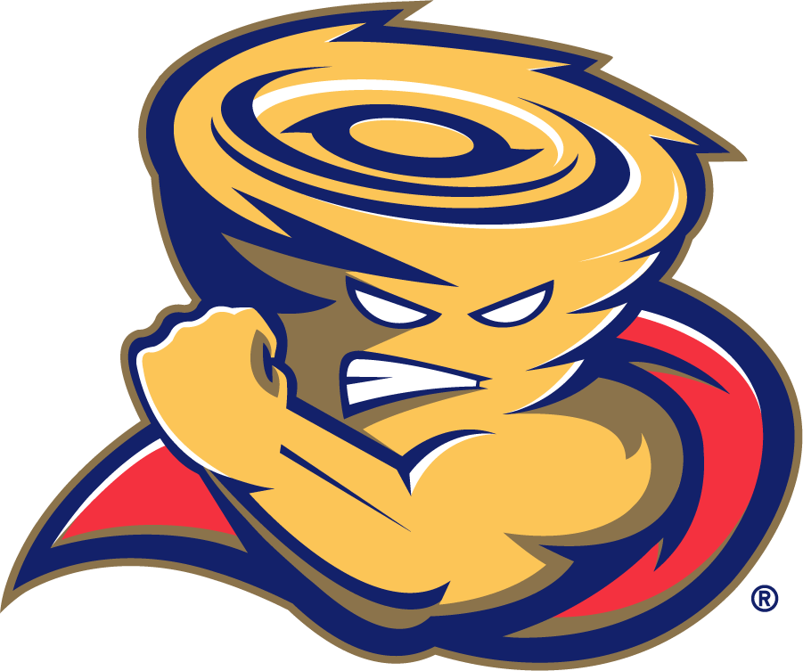 Tulsa Golden Hurricane Logo Mascot Logo (2006-2009) - Captain Cane. UBigFanUan, Oklahoma-based supplier of officially licensed collegiate apparel, partnered with The University of Tulsa to create the new logo, and donated it to the university in exchange for a three year exclusive contract to be the sole provider of merchandise bearing the mark. UBigFanU's design challenge was to make Captain Cane more aggressive, more edgy, and more appealing  to the younger consumer. SportsLogos.Net