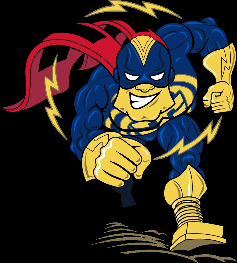 Tulsa Golden Hurricane Logo Mascot Logo (2009-2019) - Captain Cane charging. SportsLogos.Net
