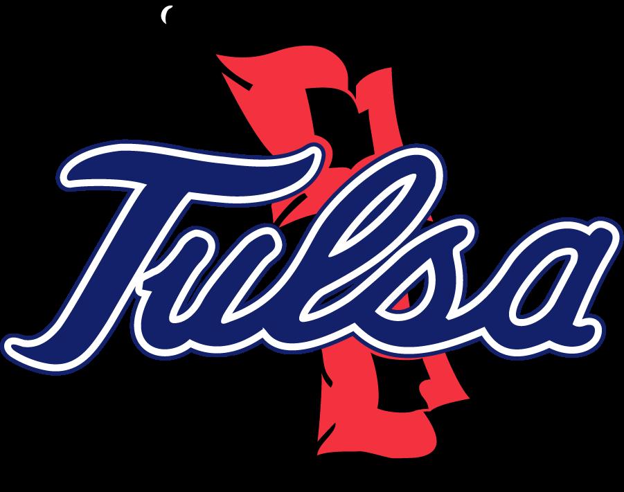 Tulsa Golden Hurricane Logo Primary Logo (1995-2014) - Tulsa script on Hurricane Warning Flags SportsLogos.Net