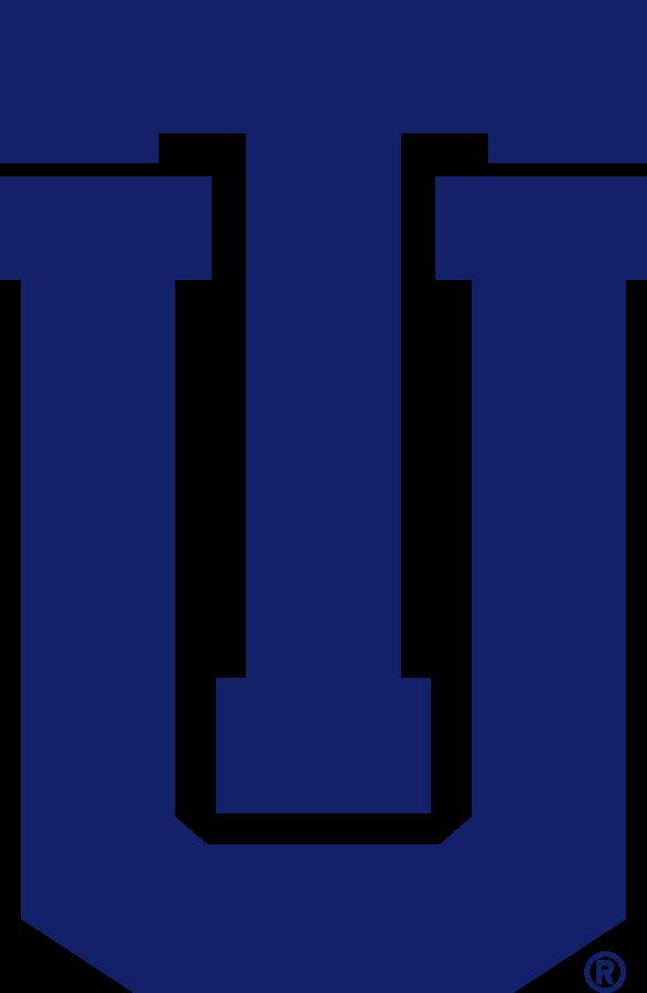 Tulsa Golden Hurricane Logo Secondary Logo (1995-2014) - TU logo in blue. SportsLogos.Net