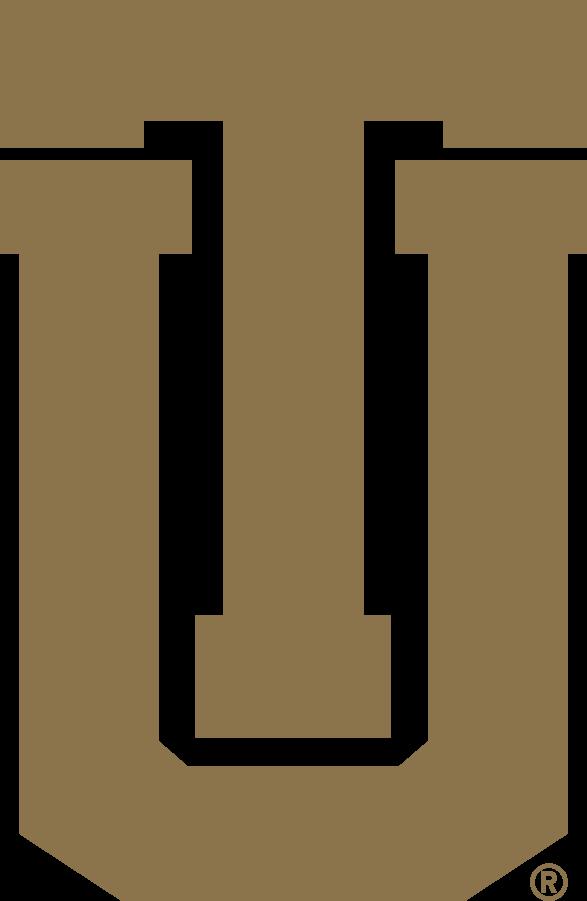 Tulsa Golden Hurricane Logo Secondary Logo (1995-2014) - TU logo in gold. SportsLogos.Net