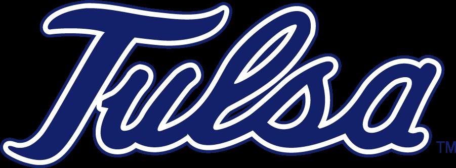 Tulsa Golden Hurricane Logo Secondary Logo (1995-2014) - Script TULSA SportsLogos.Net