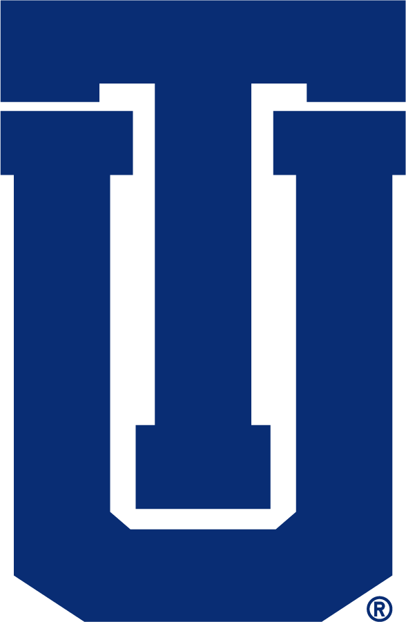 Tulsa Golden Hurricane Logo Secondary Logo (2014-2017) - TU logo in new blue. In 2017 this was changed from athletics to institutional usage. SportsLogos.Net