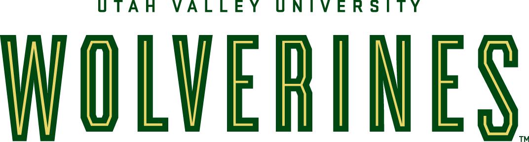 Utah Valley  Wolverines Logo Wordmark Logo (2008-Pres) -  SportsLogos.Net