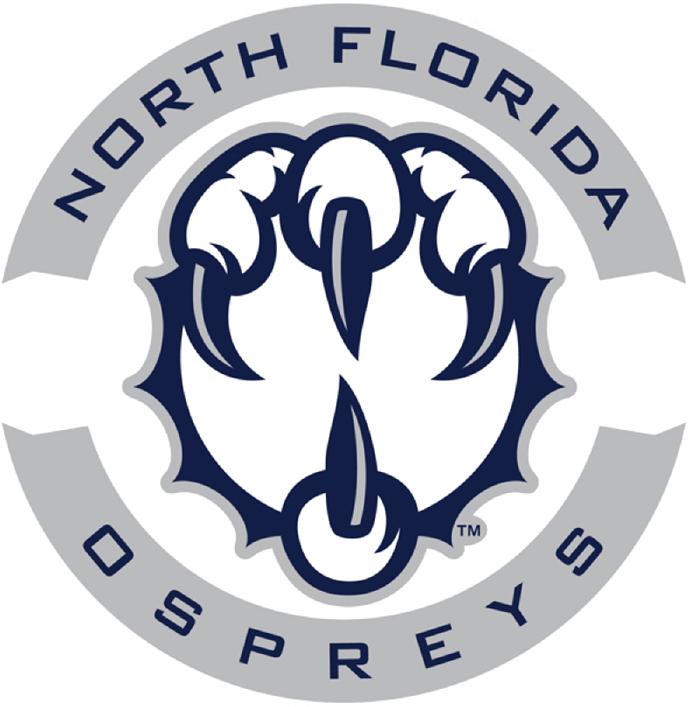 UNF Ospreys Logo Secondary Logo (2014-Pres) -  SportsLogos.Net