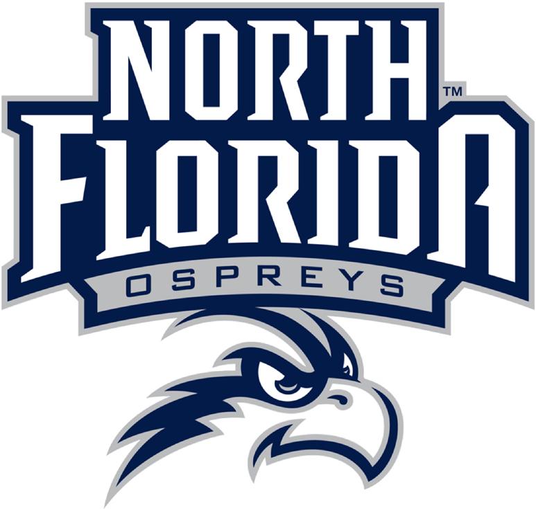 UNF Ospreys Logo Primary Logo (2014-Pres) -  SportsLogos.Net