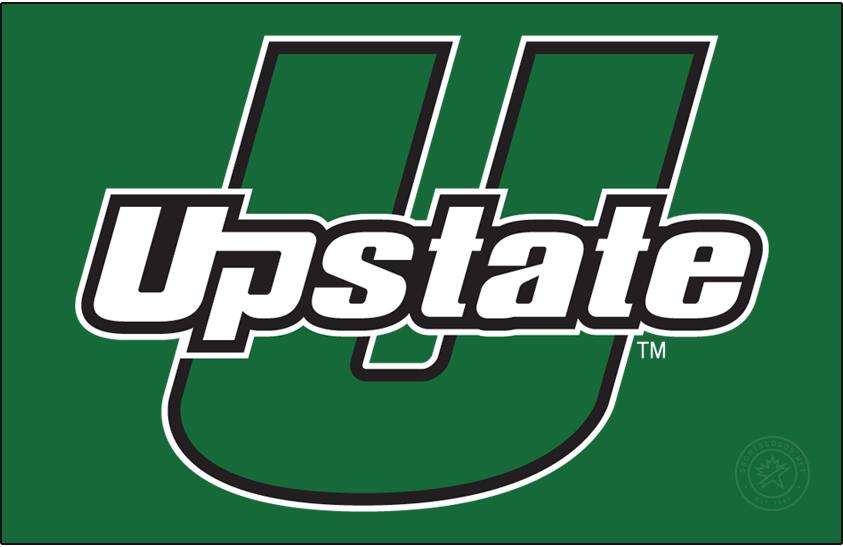 USC Upstate Spartans Logo Primary Dark Logo (2011-2021) - U-Upstate mark on green. SportsLogos.Net