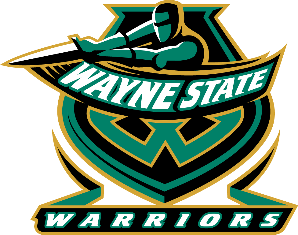 Wayne State Warriors Logo Primary Logo (1999-2006) -  SportsLogos.Net
