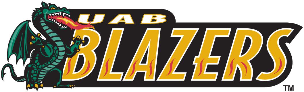 UAB Blazers Wordmark Logo - NCAA Division I (u-z) (NCAA u