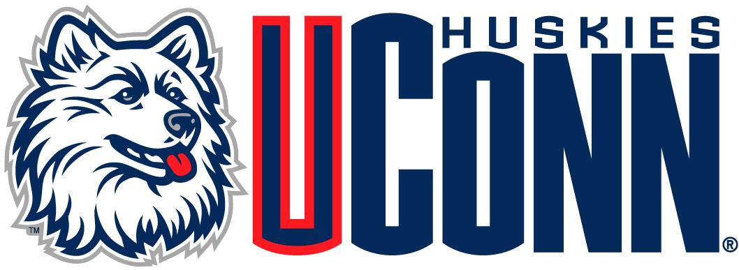 Uconn Huskies Wordmark Logo Ncaa Division I U Z Ncaa U Z