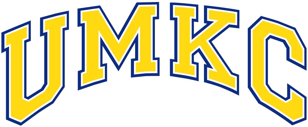 UMKC Kangaroos Logo Wordmark Logo (1987-2004) -  SportsLogos.Net