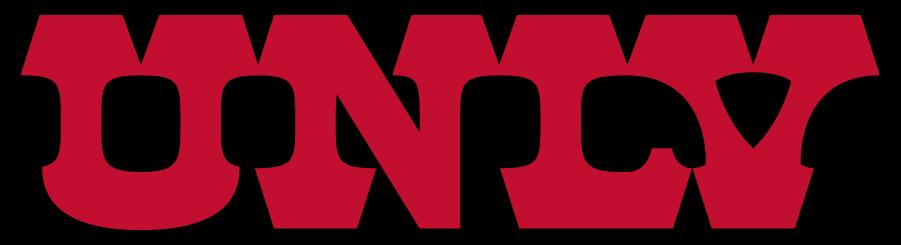 UNLV Rebels Logo Wordmark Logo (1983-1997) - Straight UNLV wordmark. SportsLogos.Net