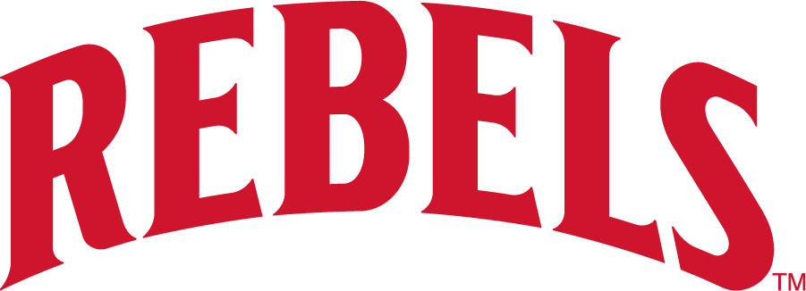 UNLV Rebels Logo Wordmark Logo (2017-2018) - Arch REBELS SportsLogos.Net
