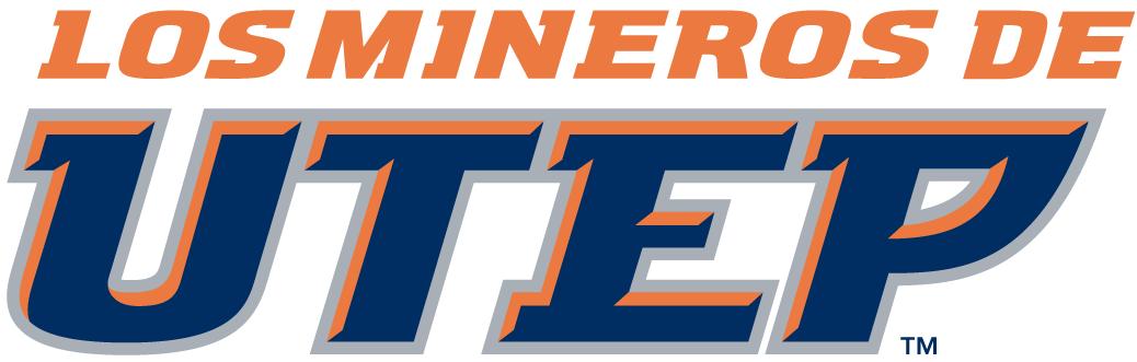 UTEP Miners Logo Wordmark Logo (1999-Pres) -  SportsLogos.Net