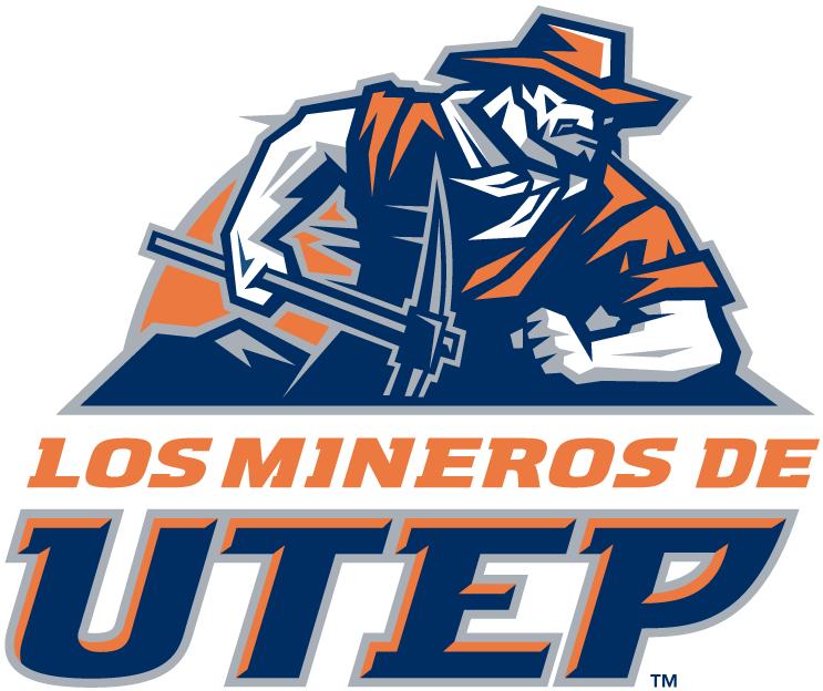 UTEP Miners Logo Alternate Logo (1999-Pres) - Spanish Alternate logo SportsLogos.Net