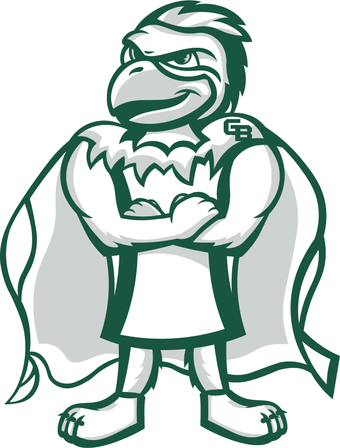 Wisconsin-Green Bay Phoenix Logo Mascot Logo (2020-Pres) - Phlash, the mascot of the Wisconsin-Green Bay Phoenix. This depiction created by Katie Stephenson, a graphics design assistant for the university\'s Office of Marketing and University Communication. SportsLogos.Net