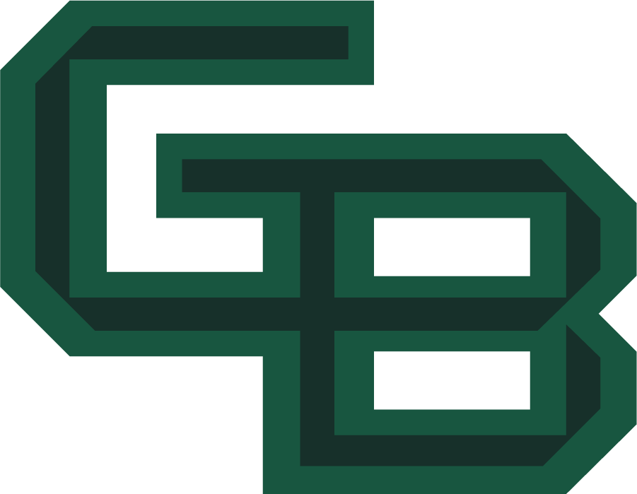 Wisconsin-Green Bay Phoenix Logo Primary Logo (2018-Pres) - On July 25, 2018, the Green Bay athletics department rolled out a new GB logo, colors, and wordmarks for a new, clean and more consistent look as part of an overall athletics rebranding effort. SportsLogos.Net