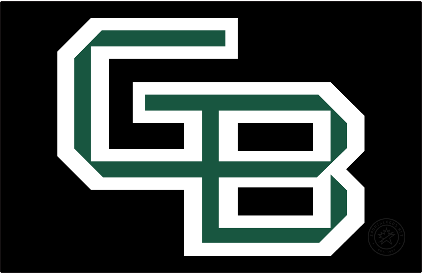 Wisconsin-Green Bay Phoenix Logo Primary Dark Logo (2018-Pres) - On July 25, 2018, the Green Bay athletics department rolled out a new GB logo, colors, and wordmarks for a new, clean and more consistent look as part of an overall athletics rebranding effort. SportsLogos.Net