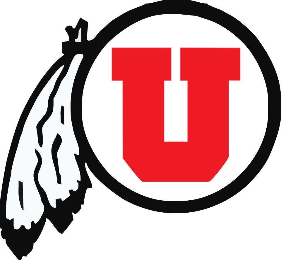 Utah Utes Logo Primary Logo (1988-2000) -  SportsLogos.Net