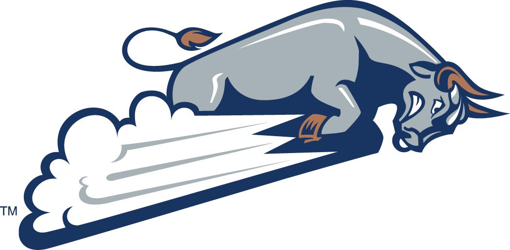 Utah State Aggies Logo Alternate Logo (1996-2011) - Charging grey bull SportsLogos.Net