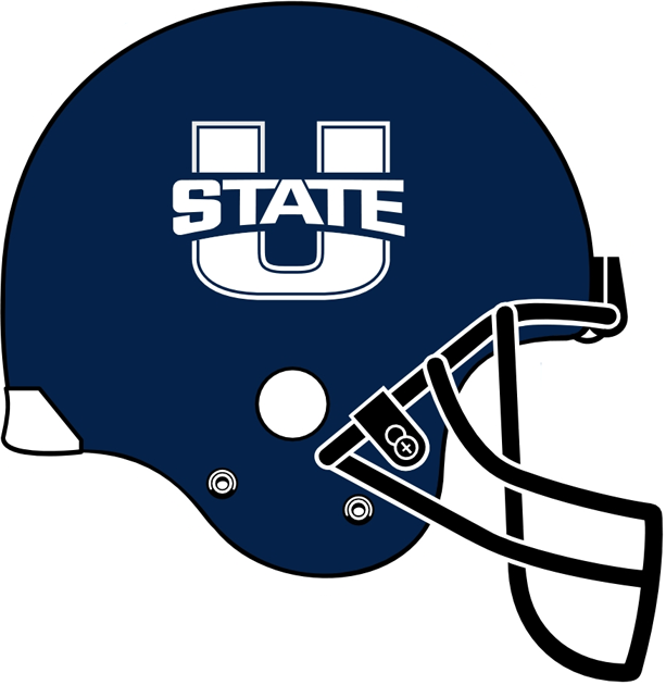 Utah State Aggies Helmet Helmet (2012-Pres) -  SportsLogos.Net