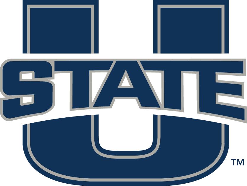 Utah State Aggies Logo Primary Logo (2012-Pres) - U with State SportsLogos.Net