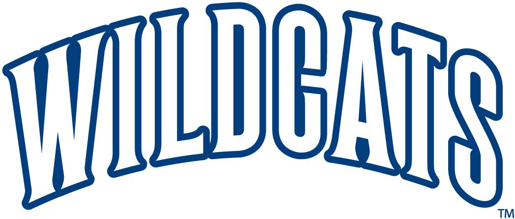 Villanova Wildcats Wordmark Logo Ncaa Division I U Z