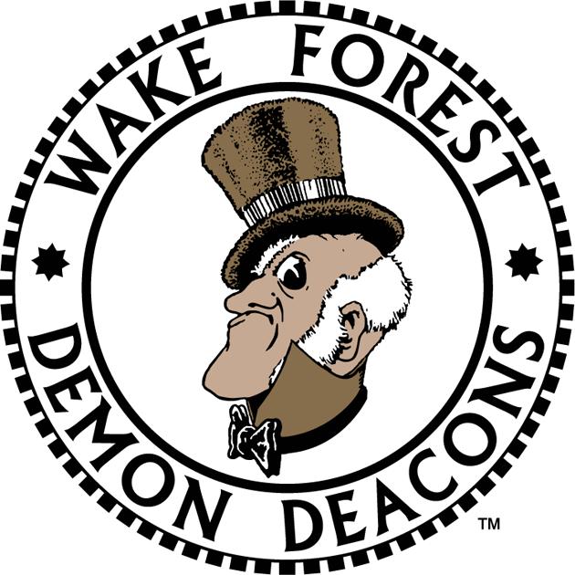Wake Forest Demon Deacons Logo Primary Logo (1968-1992) -  SportsLogos.Net