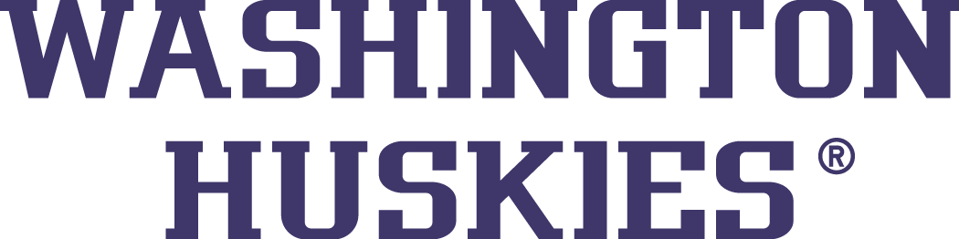 Washington Huskies Logo Wordmark Logo (2001-Pres) -  SportsLogos.Net