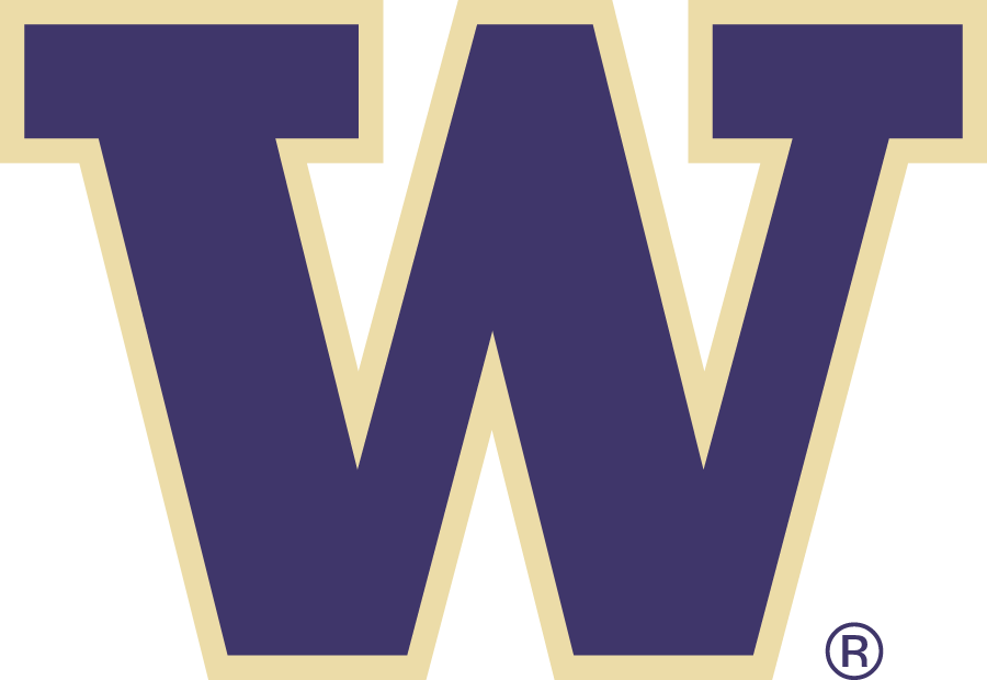 Washington Huskies Logo Primary Logo (2007-Pres) - W SportsLogos.Net