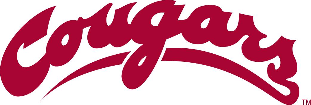 Washington State Cougars Logo Wordmark Logo (1995-2010) -  SportsLogos.Net