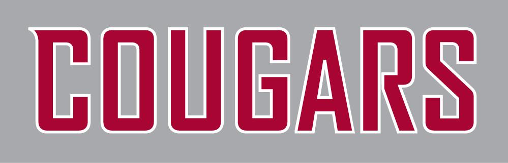 Washington State Cougars Logo Wordmark Logo (2011-Pres) -  SportsLogos.Net