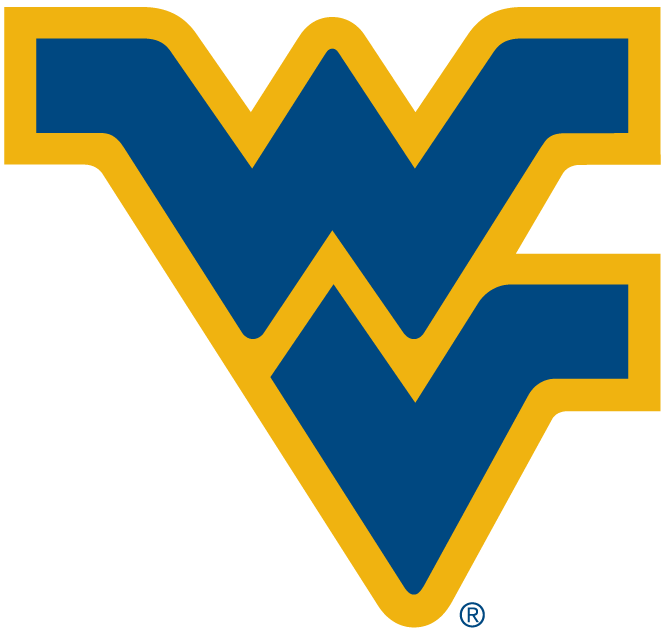 West Virginia Mountaineers Logo Alternate Logo (1980-Pres) - Blue WV SportsLogos.Net