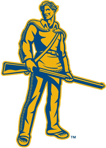 West Virginia Mountaineers Logo Mascot Logo (2002-Pres) - WVU mascot - The Mountaineer SportsLogos.Net