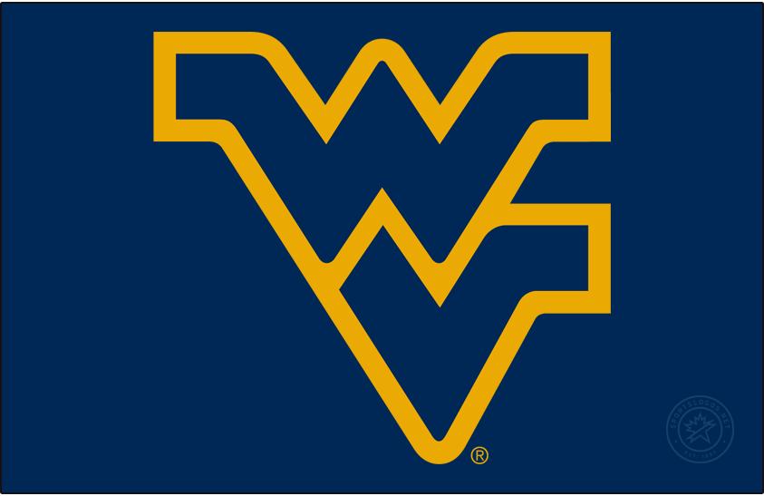 West Virginia Mountaineers Logo Alt on Dark Logo (1980-Pres) -  SportsLogos.Net