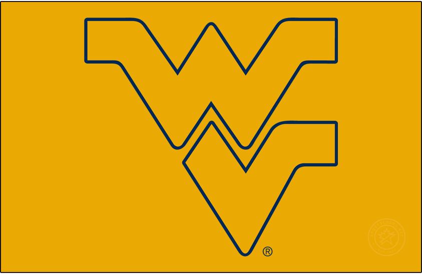 West Virginia Mountaineers Logo Alt on Dark Logo (1980-2014) -  SportsLogos.Net
